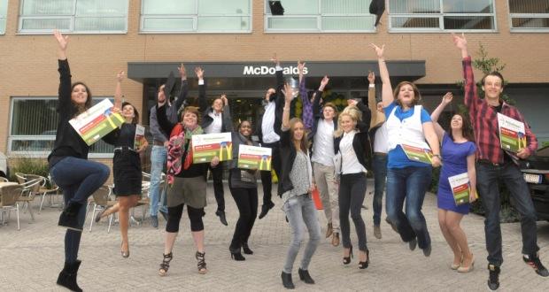 1200 extra banen bij McDonald's