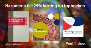 Nazomeractie in Werf& shop: 25% korting op topboeken
