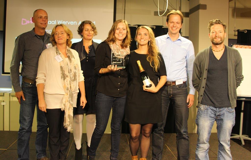 Winnaars van Bol.com en de jury
