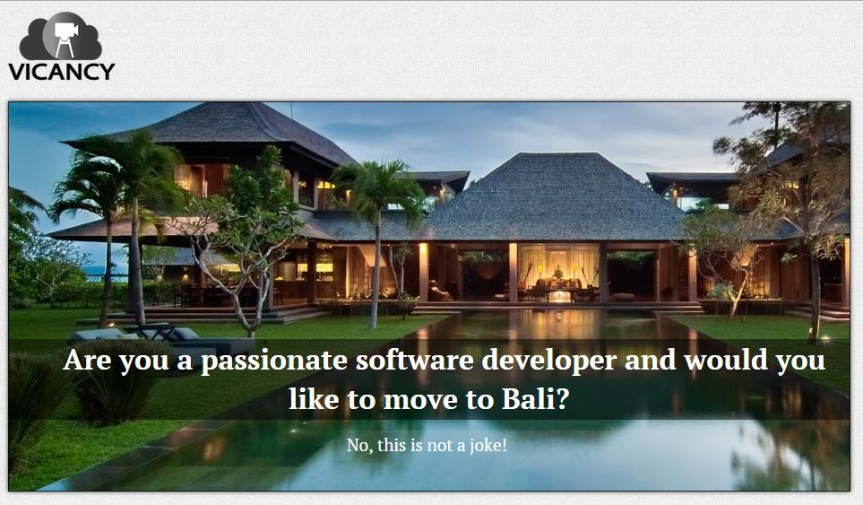 Goeie IT'ers werven? Ga naar Bali