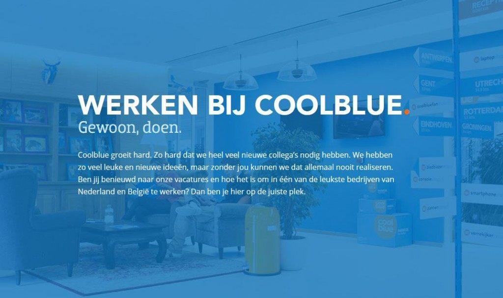 werken bij coolblue