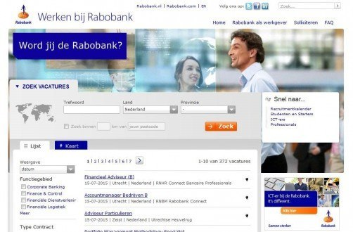 rabobank jobs