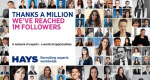 Hays haalt 1 miljoen op LinkedIn