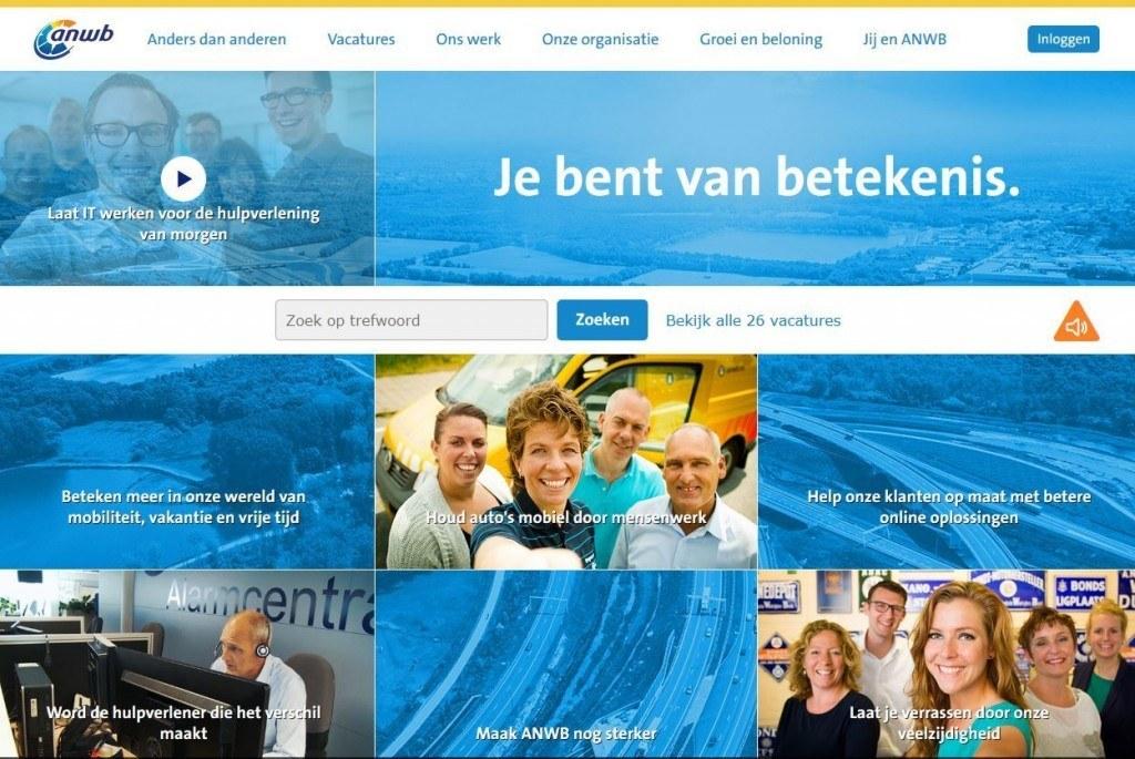 anwb homepage