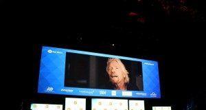Aankondiging van Sir Richard Branson