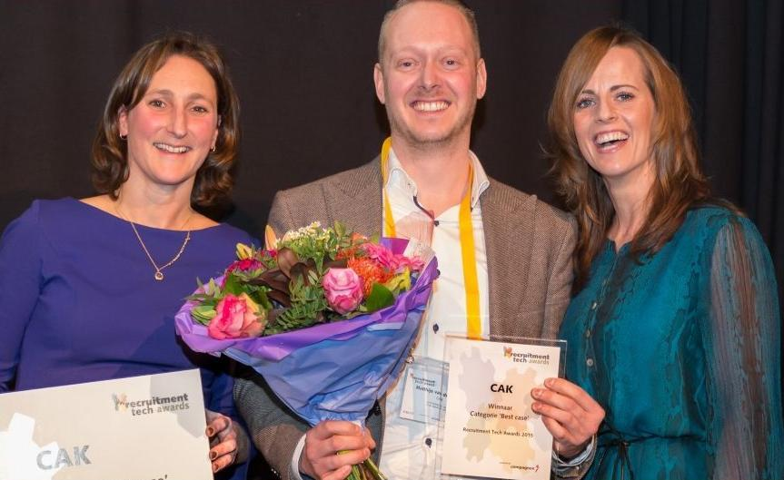 Connexys en CAK eerste winnaars Recruitment Tech Awards
