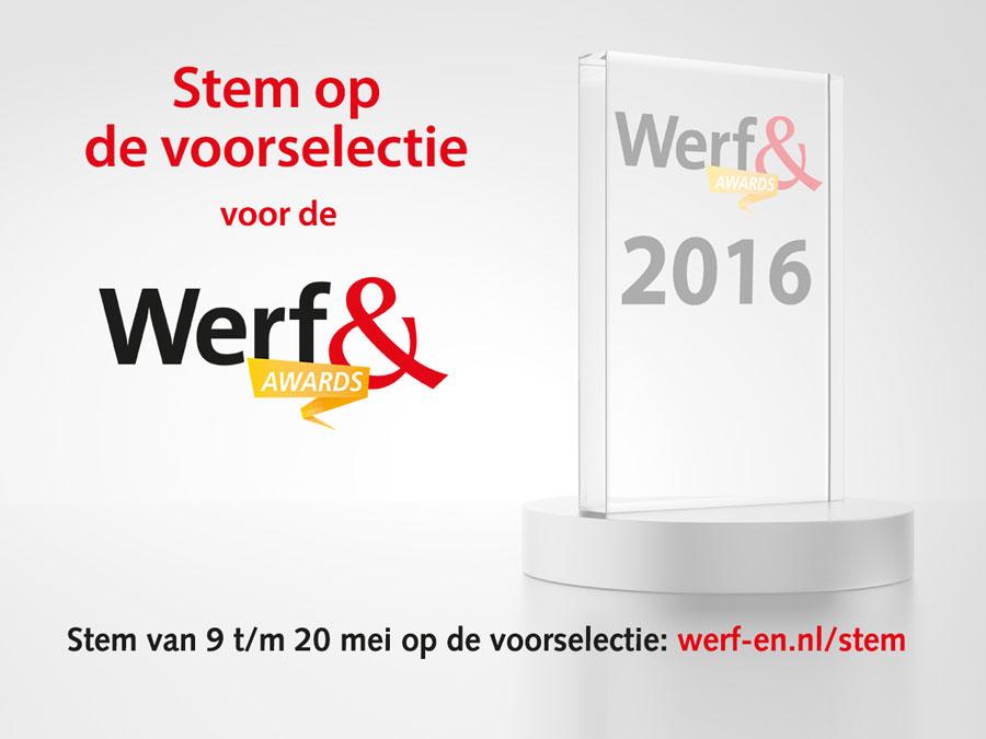 Stem nu voor de Werf& Awards