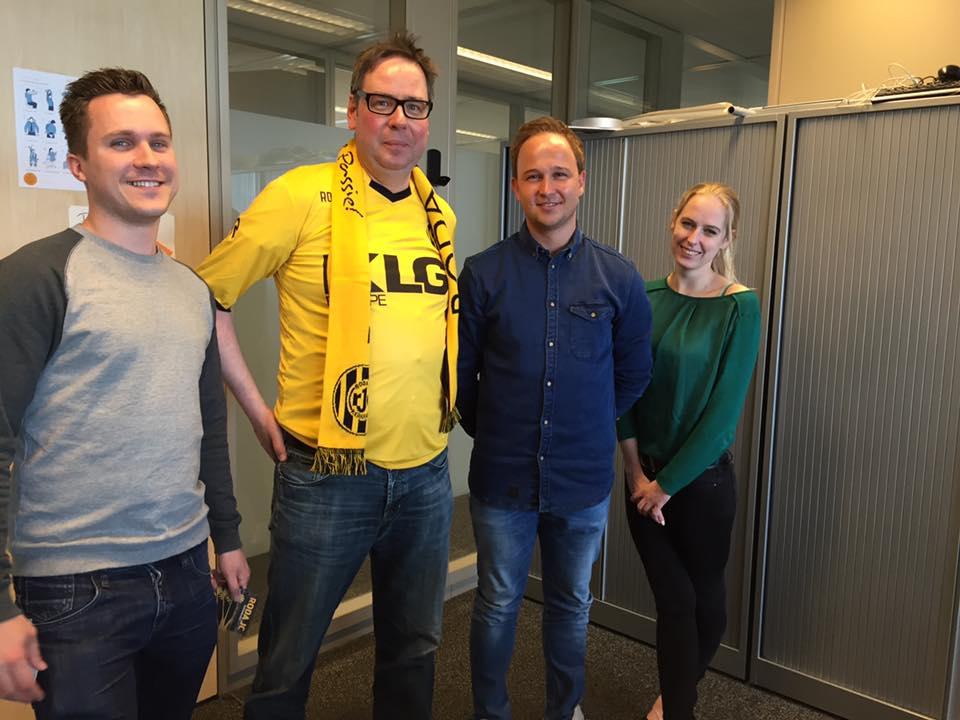 Welkom heten nieuwe Obvion collega's bij Roda JC (Obvion NV)