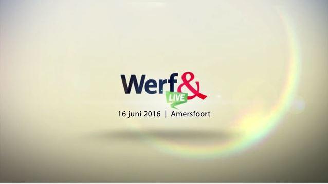 Zo gaaf was Werf& Live: het eerste video-verslag