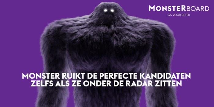 Monster jaagt naar het beste talent voor jouw organisatie [adv]