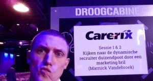 marnick vandebroek recruitment marketing content is king carerix roadshow