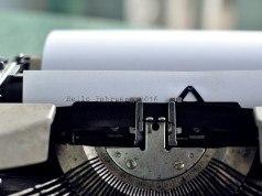 typewriter motivatiebrief