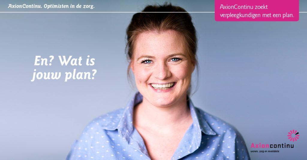 Hoe 'heel Utrecht roze kleuren' leidde tot 30 nieuwe zorgmedewerkers (AxionContinu)
