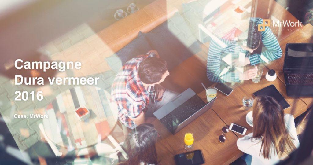 Denk in persona's en een veel betere Candidate Journey is mogelijk (MrWork / Dura Vermeer)