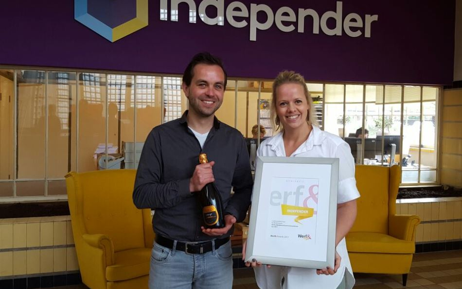 independer werf& awards