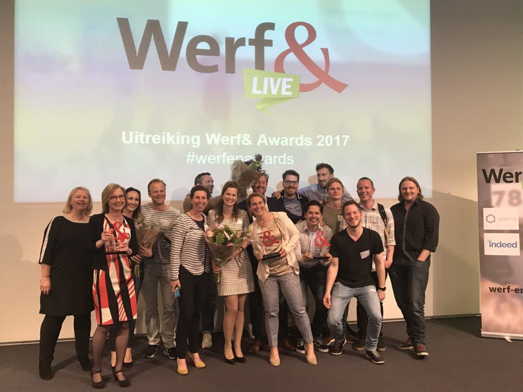 OGD, Praxis, Philips Lighting en Albert Heijn winnen Werf& Award van 2017