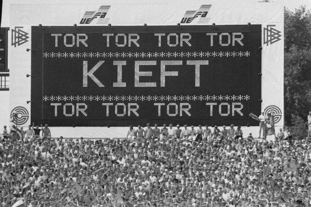 kieft scoort in 1988