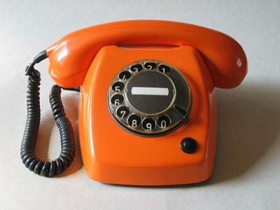 ouderwets telefoon
