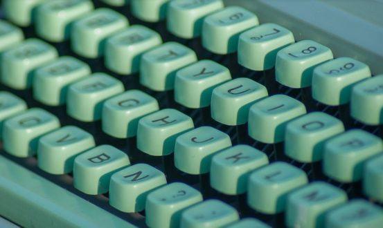ouderwets typemachine