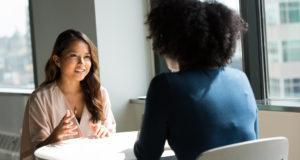 vrouwen in sollicitatie