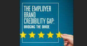 employer brand credibility gap cover werkelijkheid