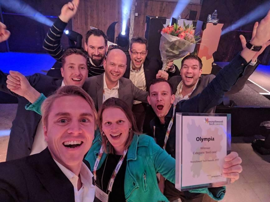 Recruitment Tech Awards van 2017 zijn prooi voor Olympia en OnRecruit