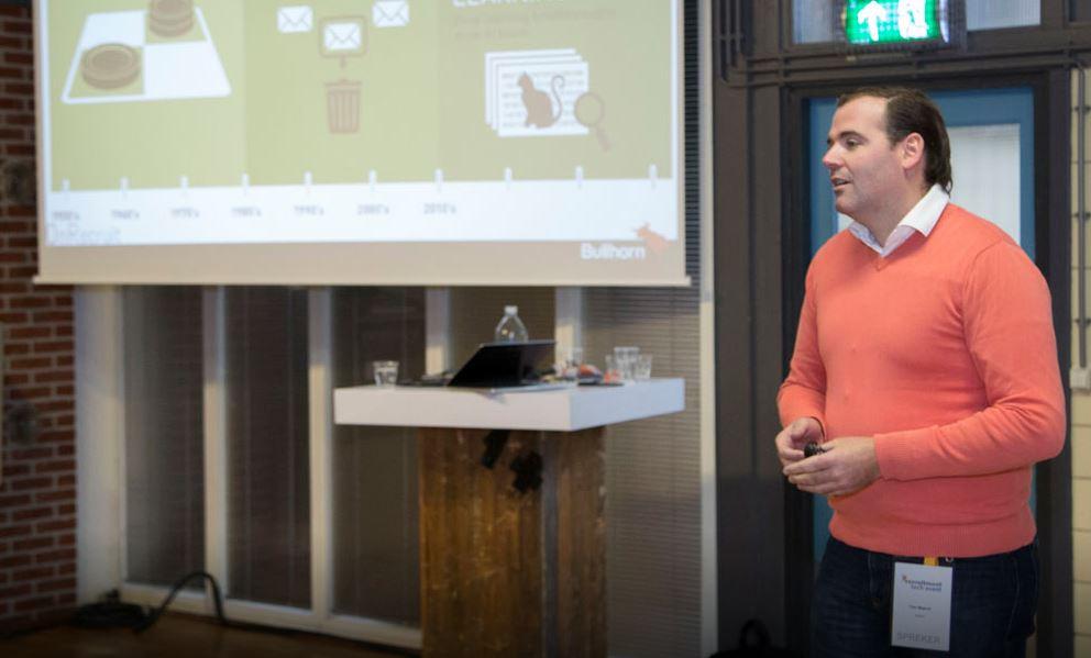 timo meijrink bullhorn recruitment tech event