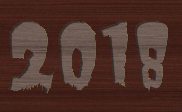 2018 niet meer terugzien