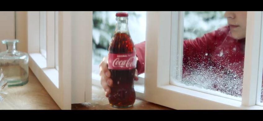 coca cola kerst commercial