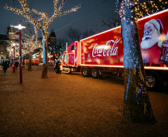 coca cola kersttour