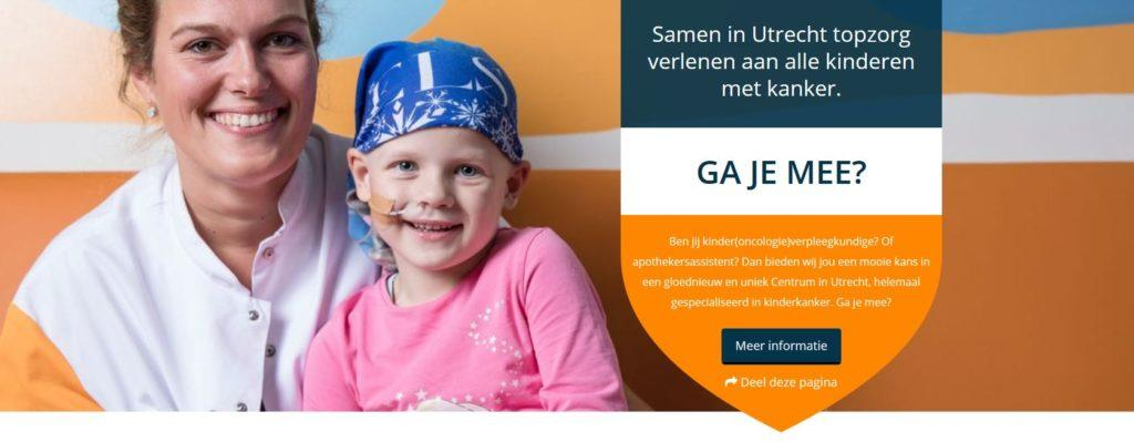 zorg wervingscampagne prinses maxima