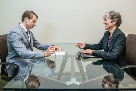 sollicitatiegesprek