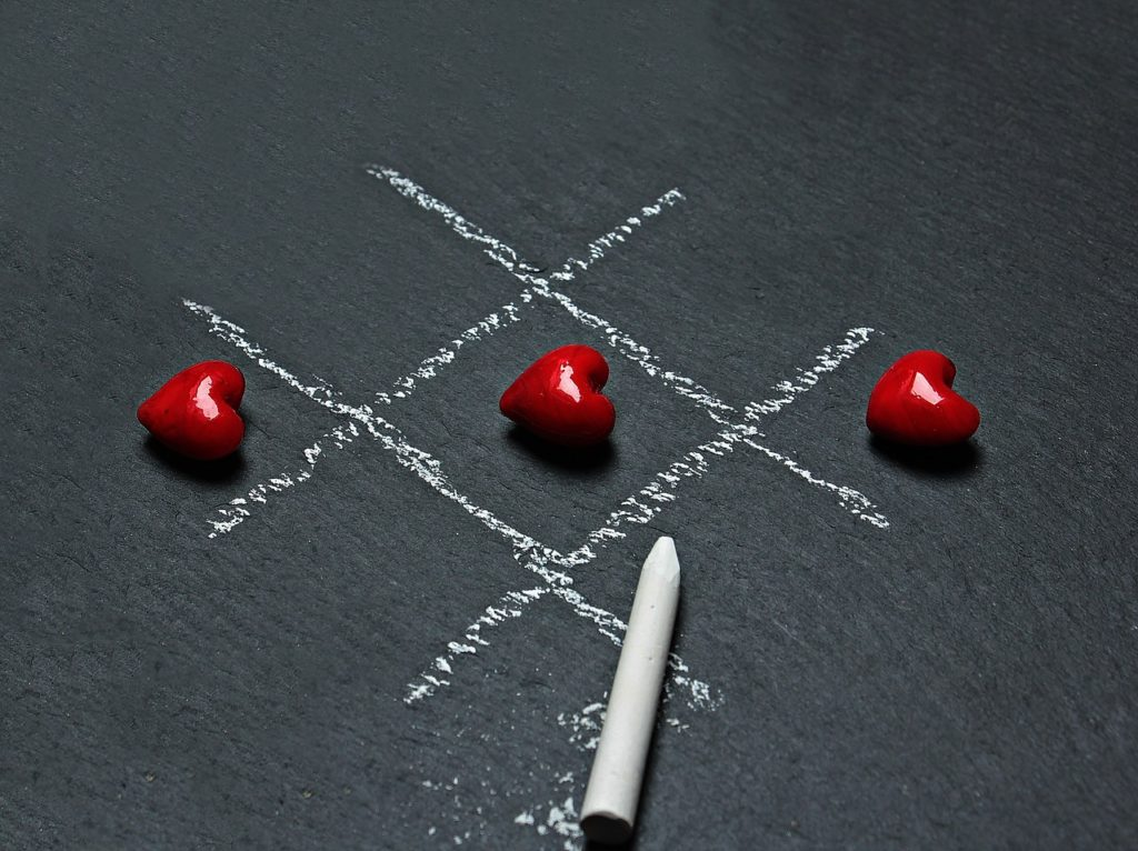 Rood is de kleur van de liefde - en krijgt dus mijn stem als meest invloedrijke recruiter