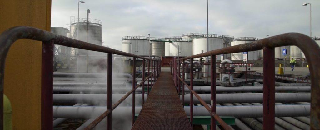 vopak terminals met brug