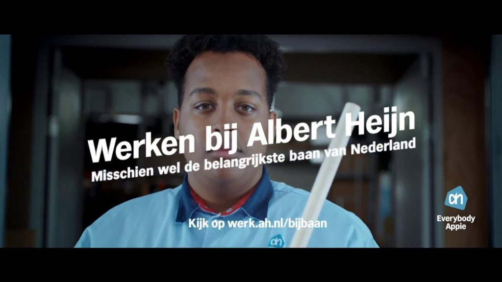 Hoe Albert Heijn met fun én overdrijving jongeren erbij wil laten horen