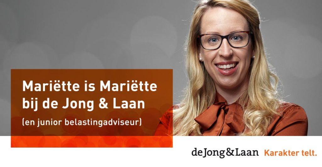 De campagne waarmee de Jong & Laan liet zien dat elk karakter telt