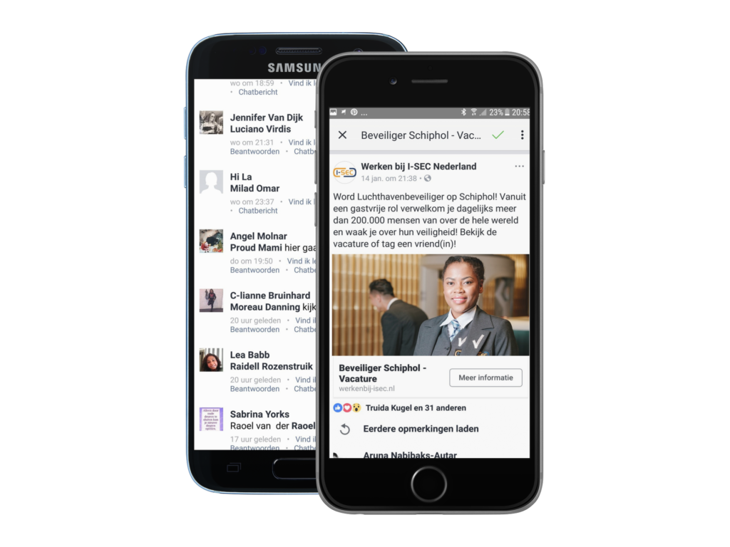 I-SEC-Jobsrepublic-campagne-Facenbook-interactie