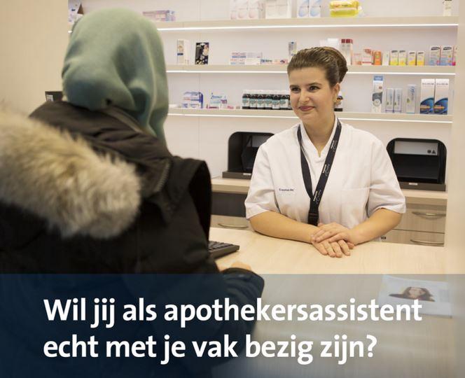 Deze campagne wist ruim 60 apothekersassistenten naar het ziekenhuis te verleiden