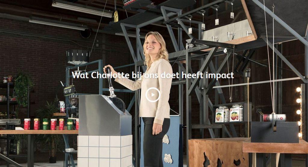 Deze zelfgebouwde machine laat zien welke impact je bij Jacobs Douwe Egberts kunt hebben