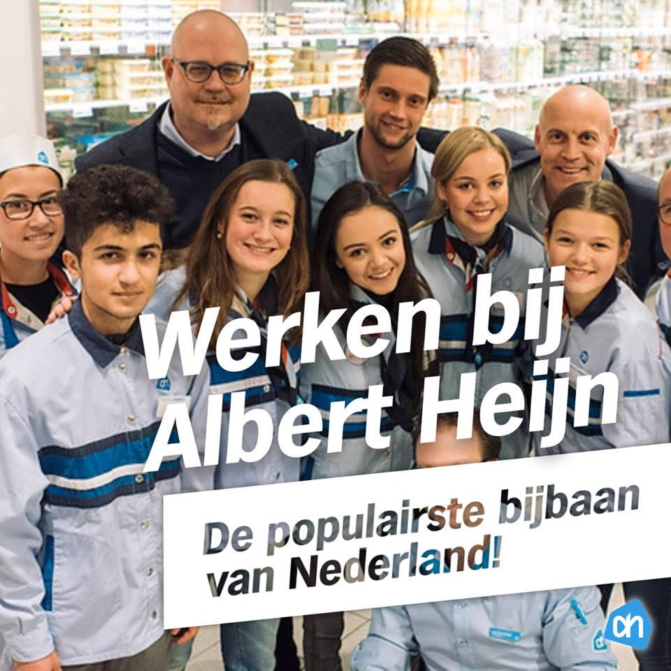 populairste bijbaan van nederland