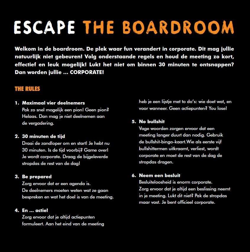 boardroom escape