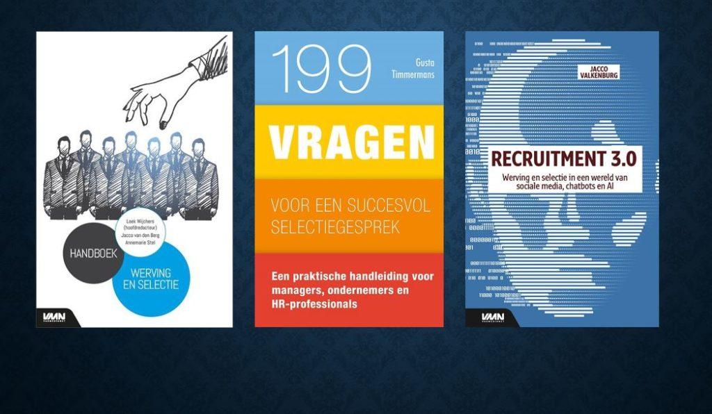 Deze 3 nieuwe boeken helpen ook jouw werving en selectie vooruit