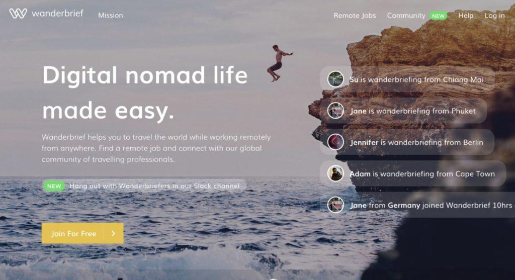 Zo werd Wanderbrief (géén) recruiter van digitale nomaden