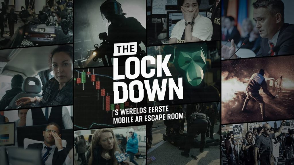 Video-interview over The Lockdown, de mobiele AR-Escape Room van ABN Amro