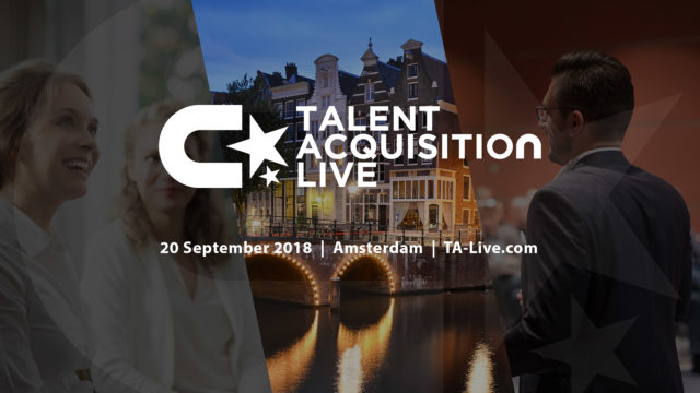 Talent Acquisition Live: 20 september 2018