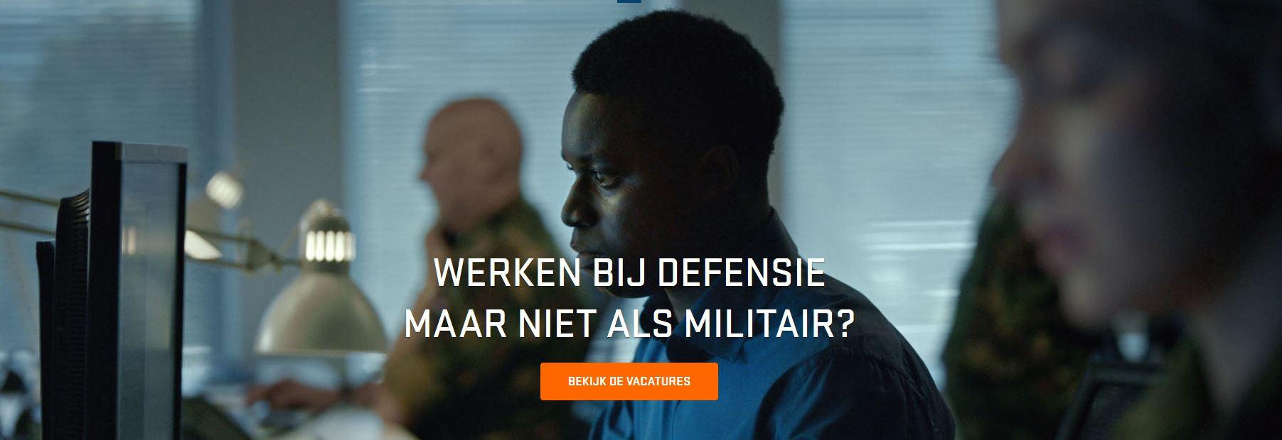 defensie niet-militairen