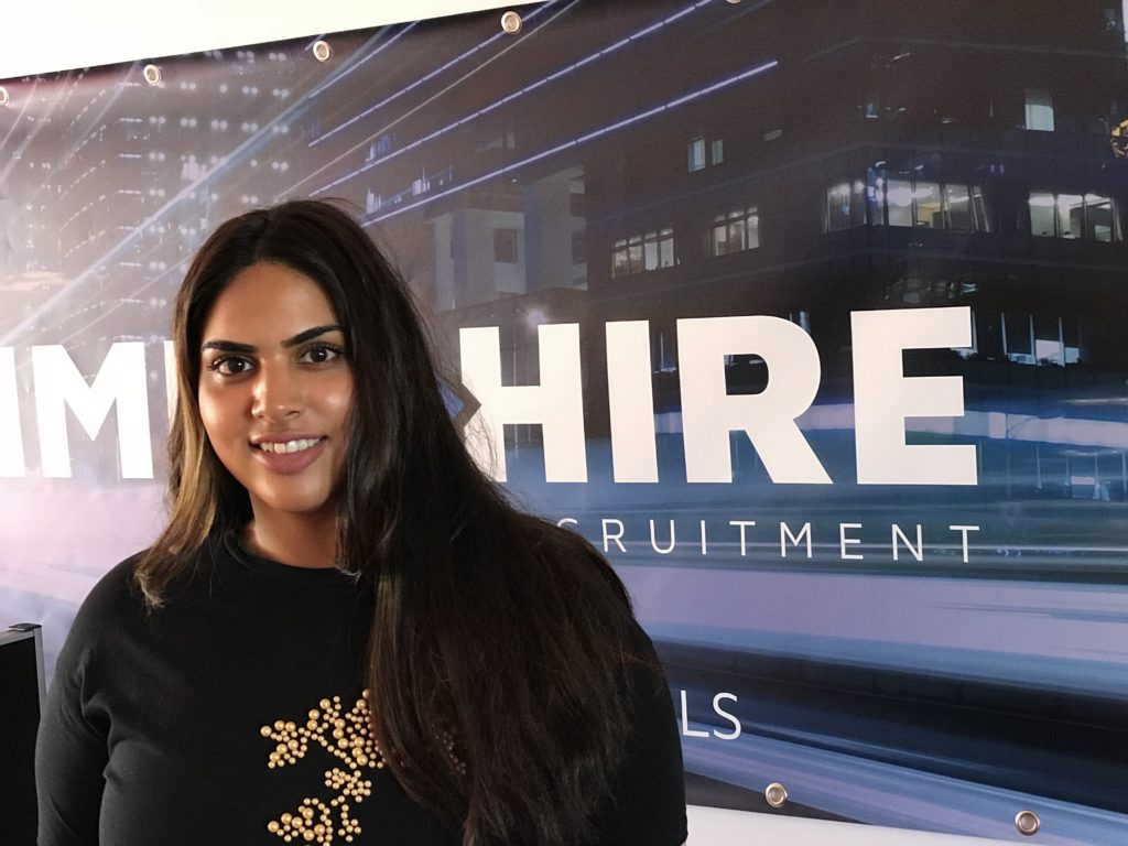 Amina Sadwal: Recruitment Partner