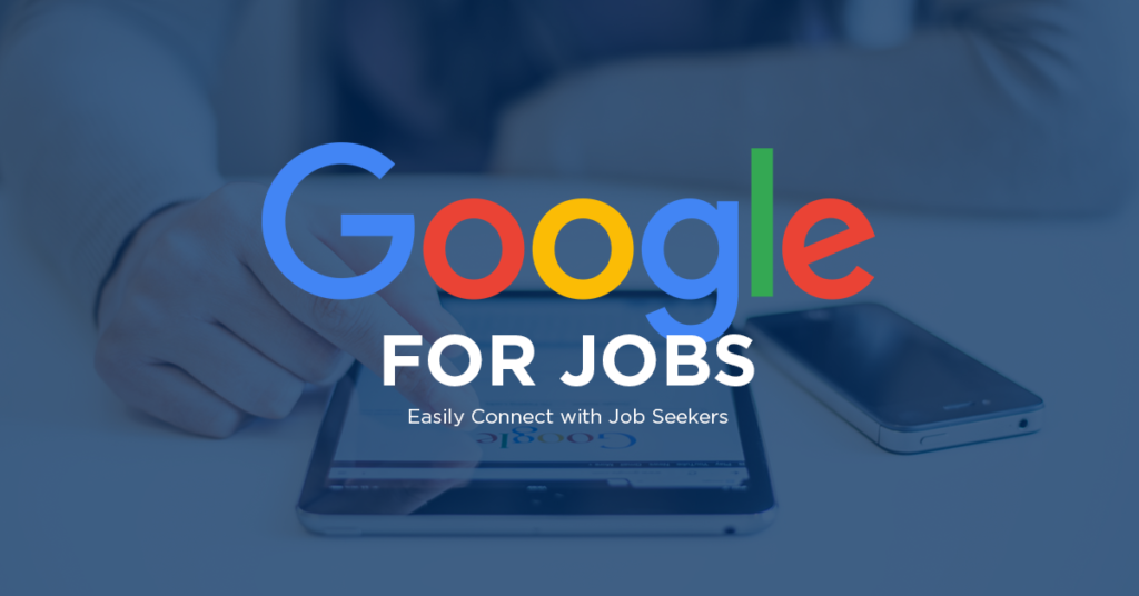 2018 agendapunt nummer 1: Google for Jobs