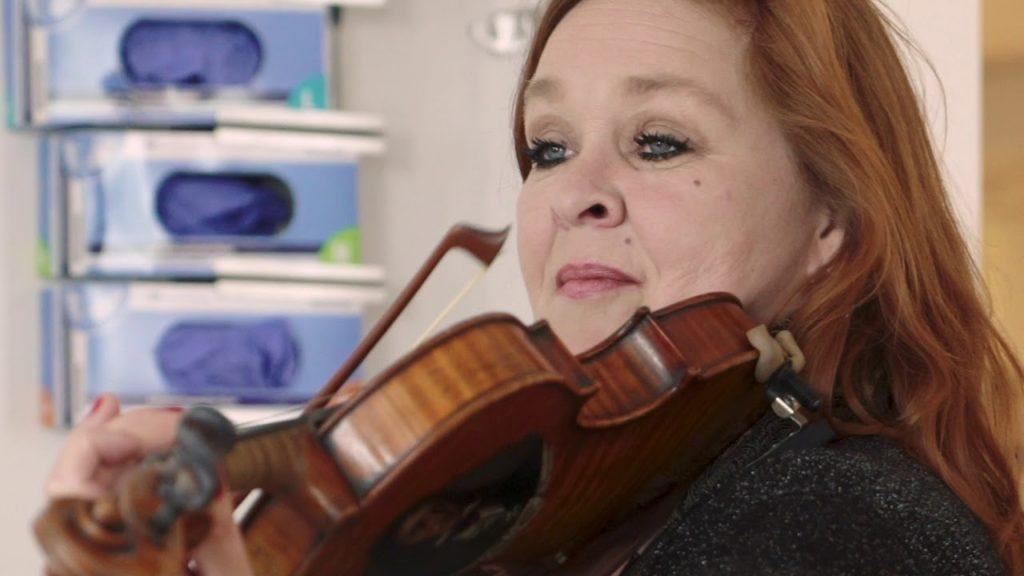 Het Reinier de Graaf strikes again: nu met twee violistes op de IC-afdeling