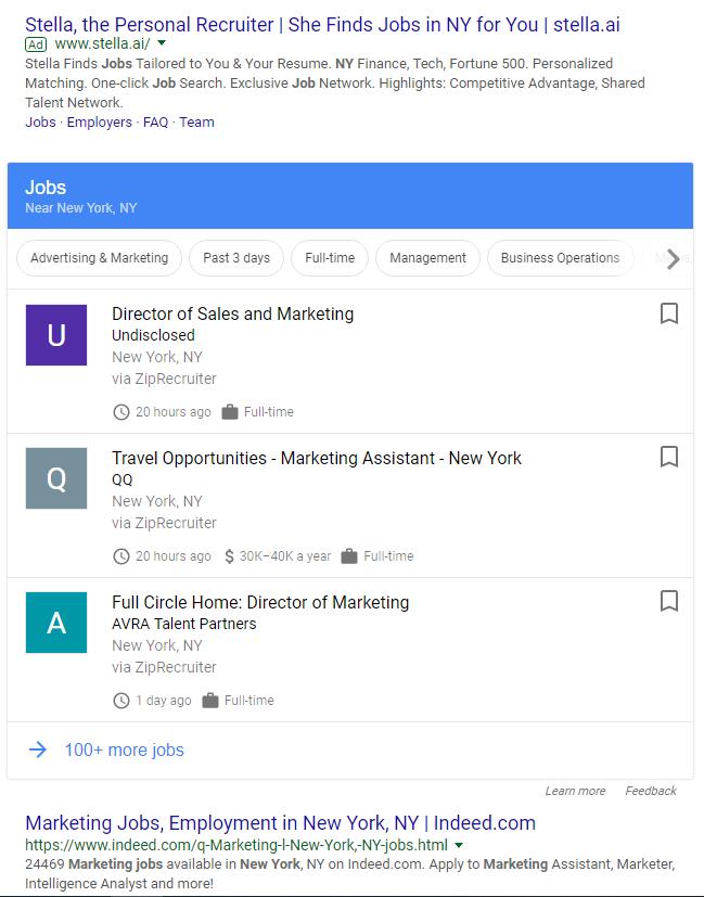 google for jobs 1
